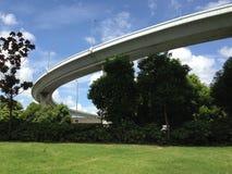 podwyższona autostrada zdjęcie royalty free