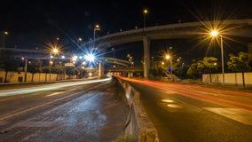 Podwyższona autostrada w Shanghai fotografia royalty free