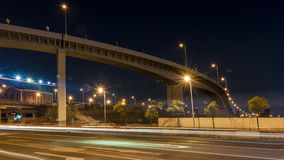 Podwyższona autostrada w Shanghai zdjęcia royalty free