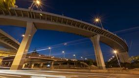 Podwyższona autostrada w Shanghai obraz royalty free