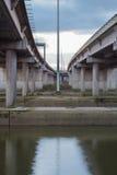 Podwyższona autostrada Obrazy Royalty Free