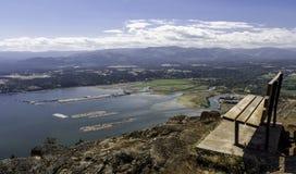 Podwyżka dalej Vancouver wyspa Fotografia Stock