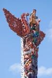 podzielić maoryjskiego drewna Fotografia Royalty Free