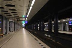 Podziemna platforma Obrazy Royalty Free