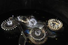 Podziemna solankowa kopalnia w Turda, Rumunia Obraz Royalty Free