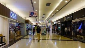 Podziemna stacja metru w Singapur Obrazy Stock