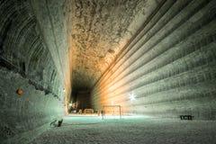 Podziemne kopalnie Ukraina, Donetsk obrazy stock