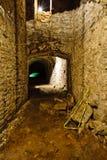 Podziemni Caverns Pod browarem wewnątrz Nad - Rhine, Cincinnati Obrazy Royalty Free
