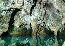 Podziemny basen i jama Fotografia Stock