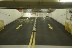 Podziemny parking samochodowy Obrazy Stock