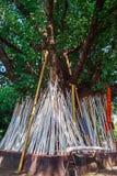 Poe tradition crutches,chiangmai,thailand. Royalty Free Stock Photos