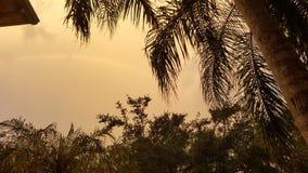 POEIRA DENSA DE SAHARA DAS NUVENS Foto de Stock Royalty Free