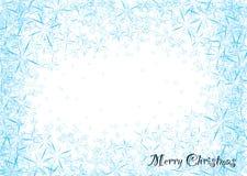 Poeira do floco de neve ilustração royalty free