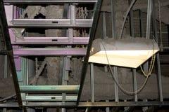 Poeira industrial da construção das vigas Imagem de Stock Royalty Free