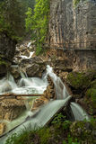 Poellat gorge Royalty Free Stock Photography