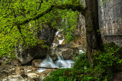 Poellat gorge Stock Photography