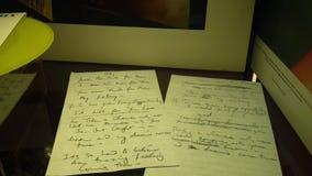 Poemas líricos de Freddie Mercury imagem de stock royalty free