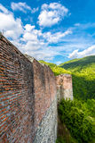 Poenari堡垒,罗马尼亚 免版税图库摄影