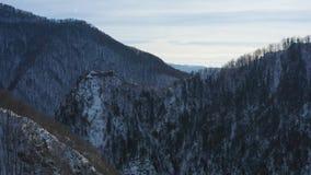 Poenari forteca w Rumunia Także dzwonił Dracula fortecę zbiory