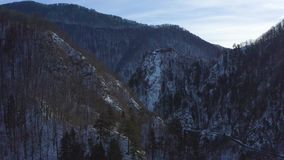 Poenari forteca w Rumunia Także dzwonił Dracula fortecę zdjęcie wideo