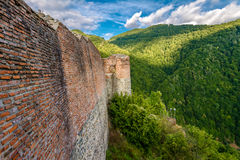 Poenari fortress, Romania Royalty Free Stock Images