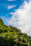 Poenari fortress, Romania stock photo
