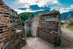 Poenari fortress, Romania Royalty Free Stock Photos