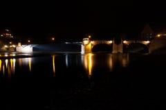 Poeppelmann-Brücke stockfoto
