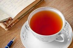 Poesía del té imágenes de archivo libres de regalías