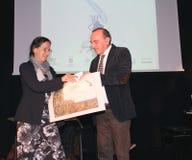 Poesía Tirinnanzi Legnano Italia de los finalistas 30° Imágenes de archivo libres de regalías