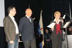 Poesía Tirinnanzi Legnano Italia de los finalistas 30° Fotografía de archivo