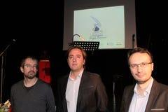 Poesia Tirinnanzi Legnano Italia dei finalisti 30° Fotografia Stock