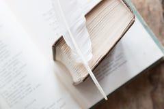 Poesie, Dichter, Gedichtidee schreibend Lizenzfreie Stockbilder