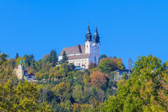 Poestlingberg Basilica, Linz, Austria Royalty Free Stock Images