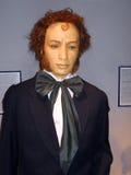 The poet Pushkin. Exhibit of wax museum in Odessa Stock Photo