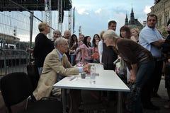 Poeta Evgeny Evtushenko Obrazy Royalty Free