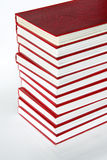 The Poetry Collection. Big stack of books royalty free stock photo