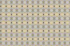 Poetry of golden tones. Textile pattern in a Venetian style by the use of golden tones, different geometries combined with blue Royalty Free Stock Image