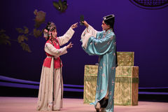 """Poetry and songwriting-Kunqu Opera """"the West Chamber"""". In May 17, 2015, the Suzhou Kunqu opera classic Kunqu Opera Xixiangji staged in nanchang.The world's Royalty Free Stock Image"""