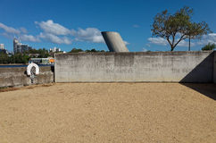Poetry Wall Monument at Ballast Point Park in Sydney Royalty Free Stock Images