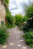 The Poets Garden in Morella. Stock Photo