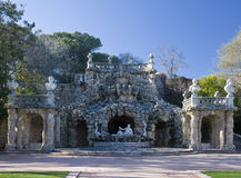 The poets grotto Stock Image