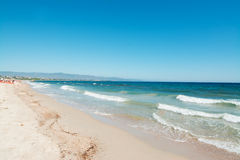 Poetto beach Royalty Free Stock Photo