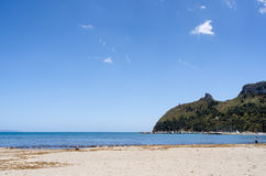 Poetto beach Royalty Free Stock Images