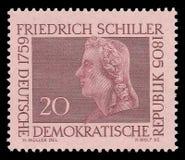 Poety i pisarzi, Friedrich Schiller fotografia royalty free