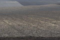 Pofalowany grunty orne Zdjęcie Royalty Free