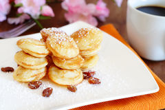 Poffertjes Stock Image