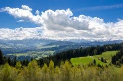 Pogórza Alps obrazy stock