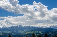 Pogórza Alps obraz royalty free