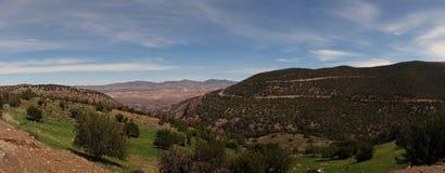 Pogórza atlant panorama Zdjęcia Stock
